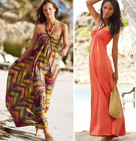 Очень люблю длинные платья и сарафаны, но тут сбилась с