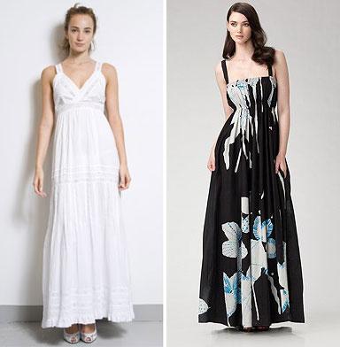 платье, длинный сарафан выкройка