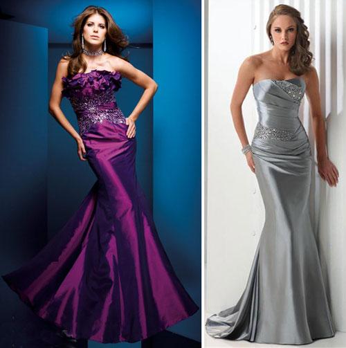 Длинные выпускные платья 2010 Платье.