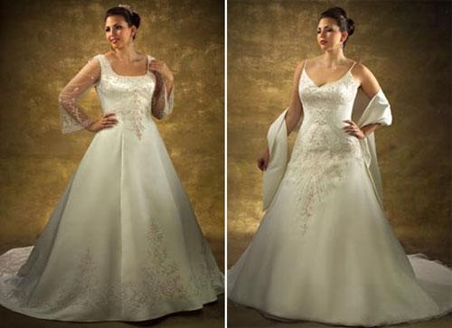 Рассматривая свадебные фасоны платьев для полных, модельеры советуют...
