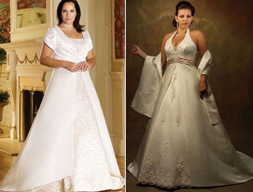 В грамотно подобранном платье невеста