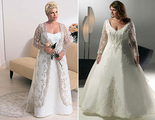 Свадебное платье для полных девушек своими руками