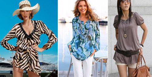 Яркие платья туники сарафаны 47