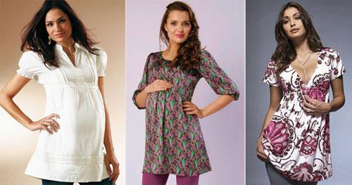 Платья короткие летние для беременных