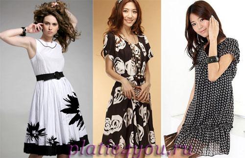 Модные платья.  Тенденции на Портале стиля и красоты DiVA.BY.