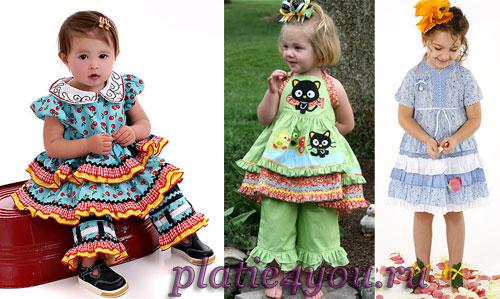Платья и капри для девочек