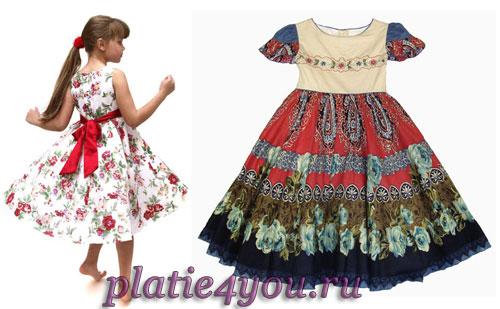 Платья для девочек - какие бывают