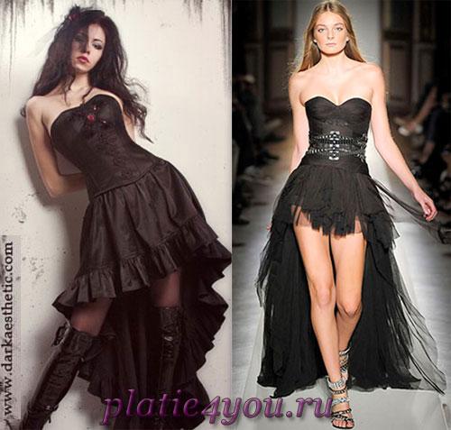 12 ноя 2010 .  Предлагаем Вашему вниманию готические платья в стилях.