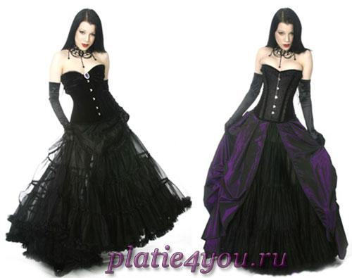 Платья для выпускного в готическом стиле