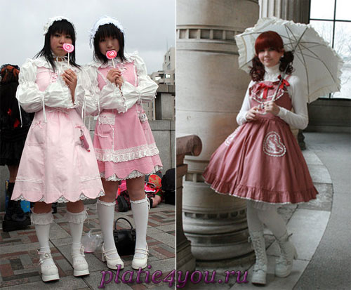 Платья в стиле сладкая Лолита