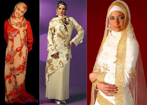 Платья для мусульманок