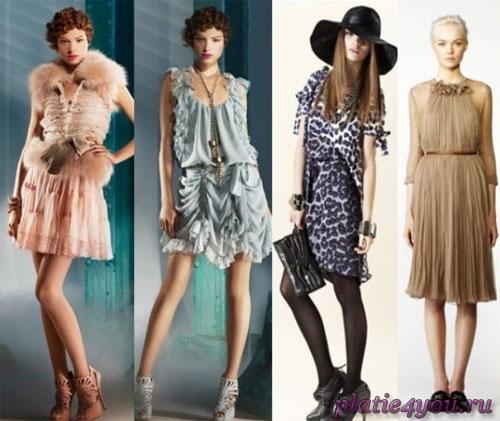 Самые модные платья 2011 christian dior just