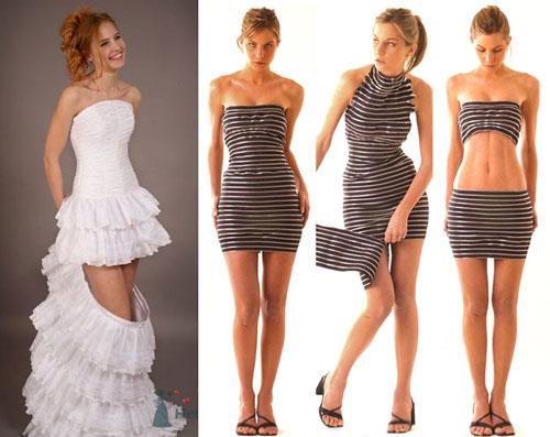 вечерние платья трансформеры