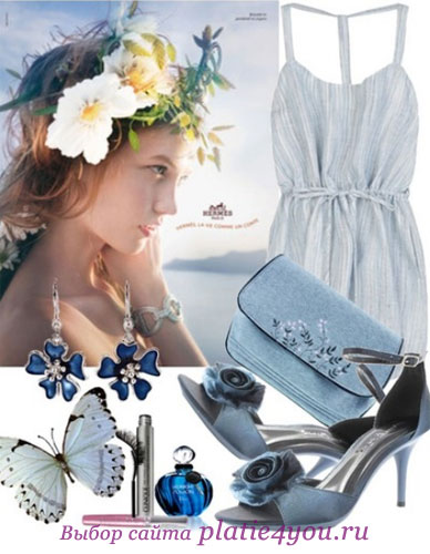 силуэт романтических платьев