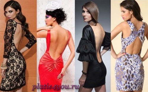 платье с открытой спиной. платье с открытой спиной + фотки.