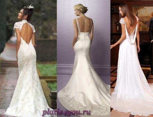 Платье с открытой спиной – выбираем