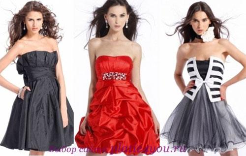 Платья на выпускной 2012 фото Вечерние платья.