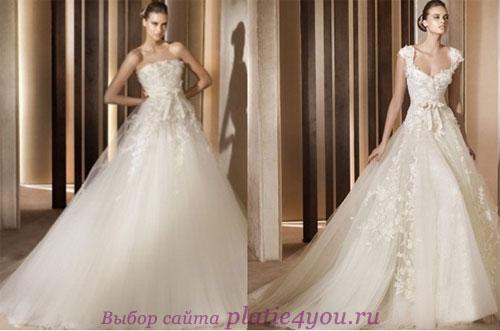 Свадебные платья Elie Saab for Pronovias 2011