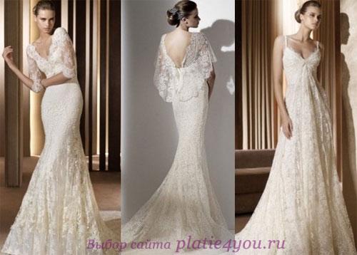 Модные свадебные платья Elie Saab for Pronovias 2011