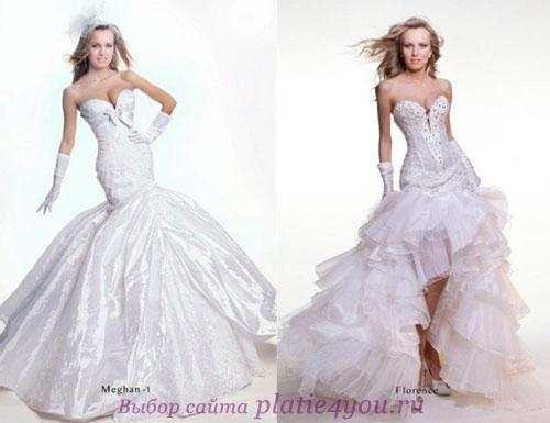 Модные свадебные платья 2011 Deluxe от Оксаны Мухи
