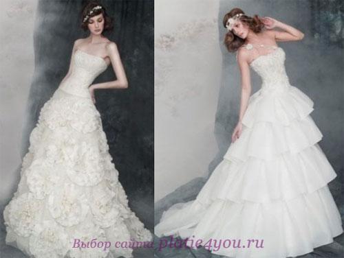Пышное свадебное платье 2011.