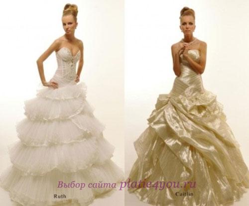 Пышное свадебное платье 2011