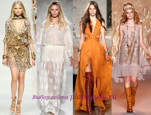 модные выпускные платья 2012 фото