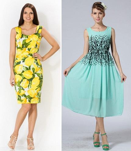 Повседневные платья обычное