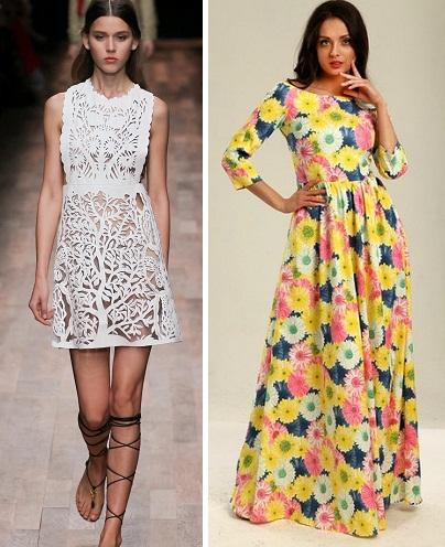 24 Простенькие платья на лето