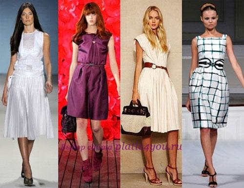 Красивые деловые платья