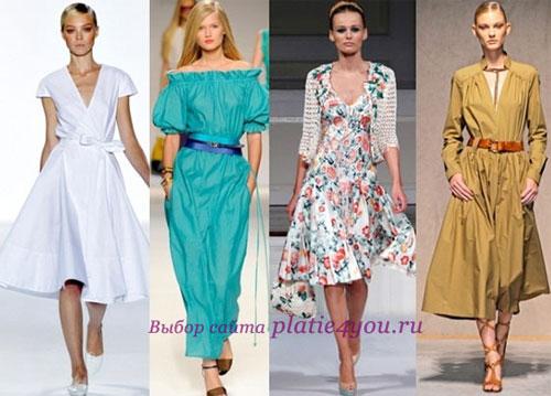 Повседневные платья в стиле