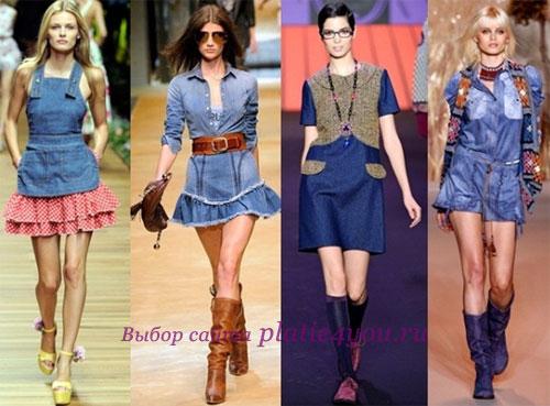 Модные тенденции в мире джинсовых платьев