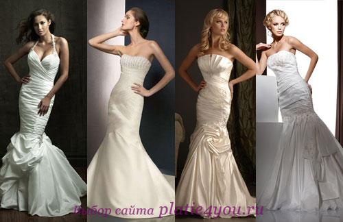 Свадебное платье годе - как выбрать