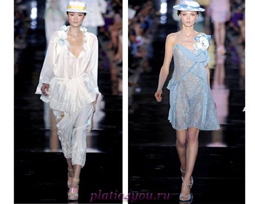 Неделя моды в Париже коллекция John Galliano