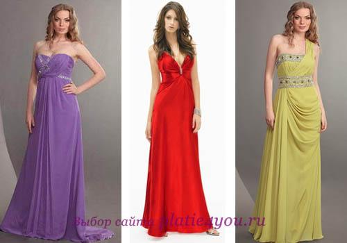 В 2012 году в моде роскошные, воздушные платья в греческом стиле, которые.