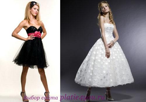 Платья на выпускной в стиле ретро