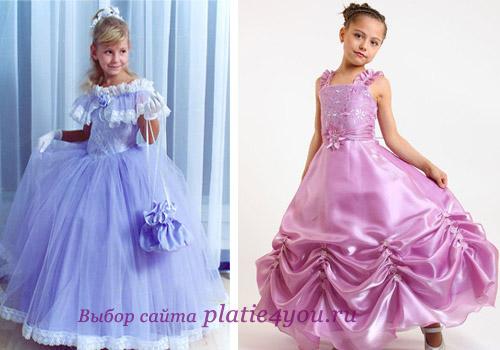 выбираем платье на выпускной в 4 классе для девочки