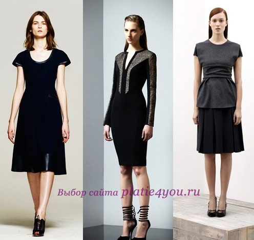 Офисное платье – основа делового гардероба