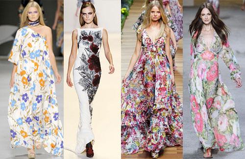 Платья в пол с чем носить фото