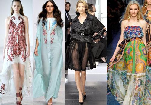 какие бывают шифоновые платья
