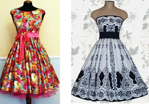 Выпускные платья а стиле 60-х