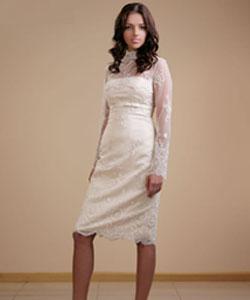 Длина подвенечного платья