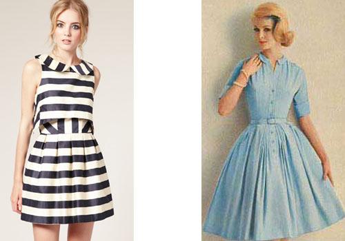 Платья в стиле 60-х годов фото на выпускной