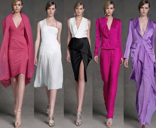 платья Donna Karan Resort 2013