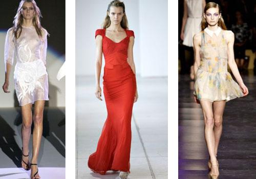 как правильно носить короткое шифоновое платье