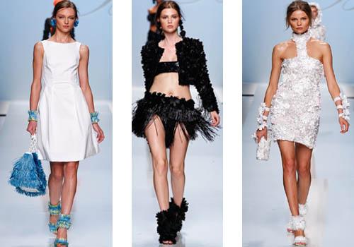 Пышная юбка платьев в основном до колен на деле выглядит необычайно...