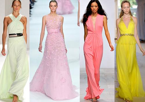 вечерние платья от Кристиан Диор (Christian Dior), Elie Saab, Карлос Миле (Carlos Miele)