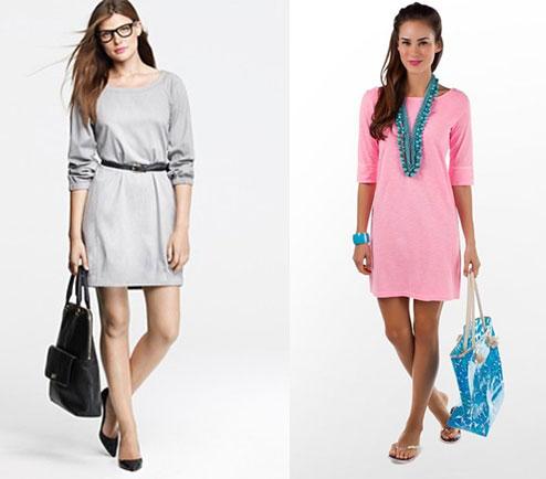 Платье для выходного дня - с чем сочетать