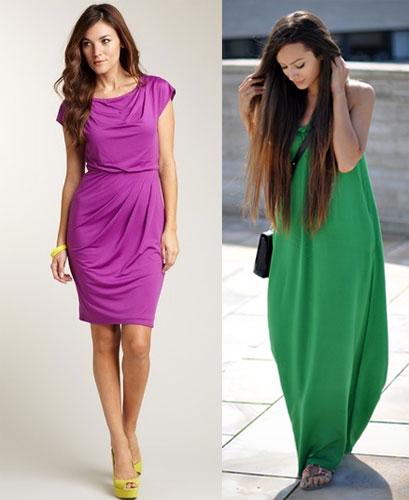Яркое платье – как выбрать цвет