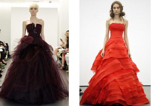 Коллекция свадебных платьев от Веры Вонг 2013